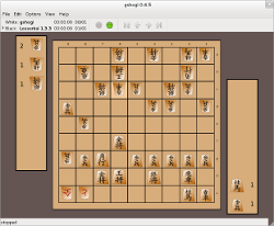 gshogi screenshot with custom pieces